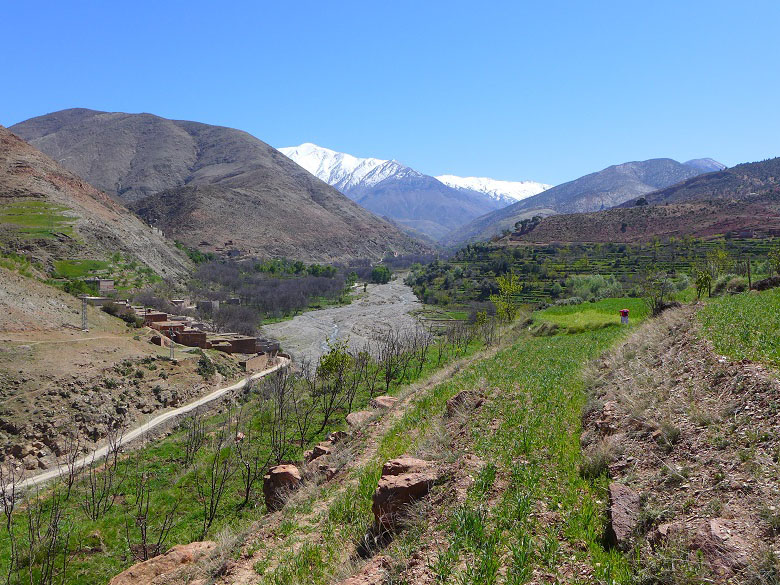 Hiking and solidarity in Amnougal valley Marrakech