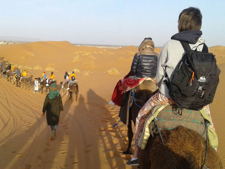 School trip in Moroco